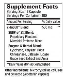Vida-Defense Ingredients