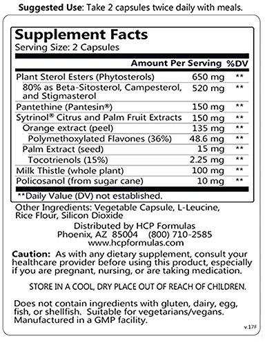 LipiCept Ingredients